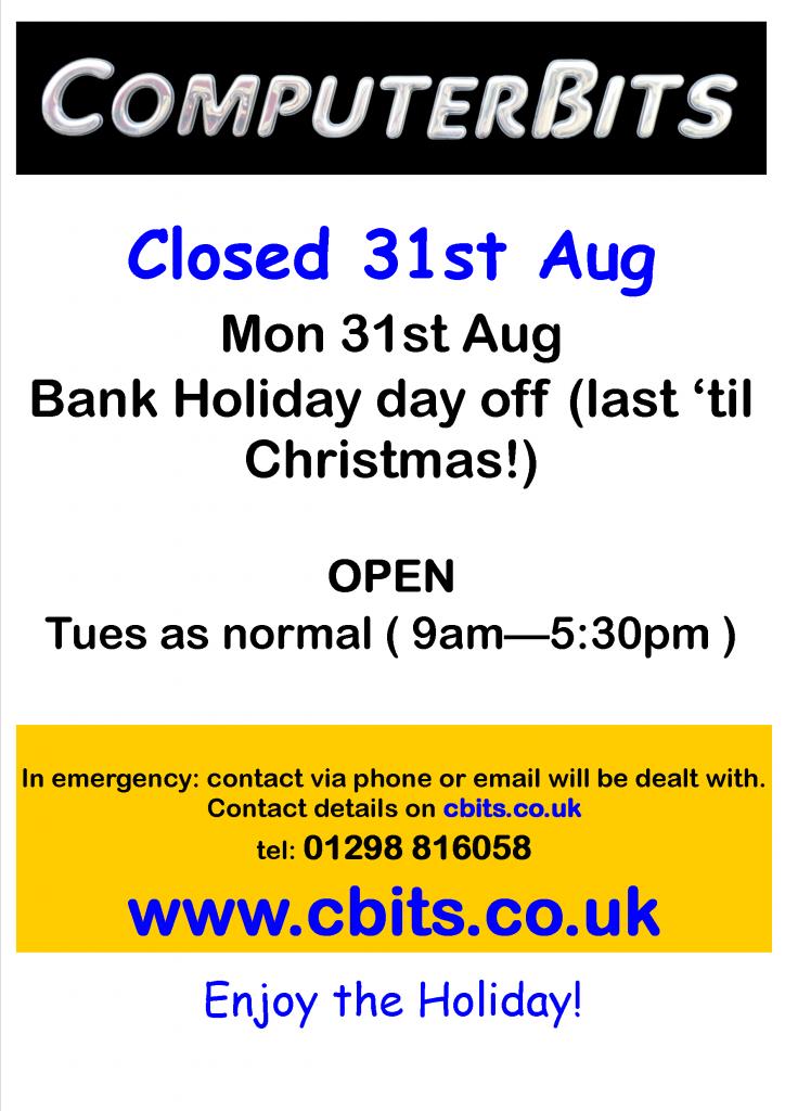 Aug Bank Holiday 2015